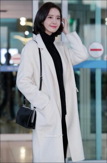 [★포토]윤아, '아침 일찍부터 예쁜 반칙미모'