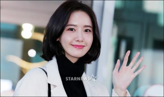 [★포토]윤아, '아침부터 설레는 눈맞춤'