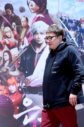 [★포토]후쿠다 유이치 감독, 영화 '은혼'으로 내한