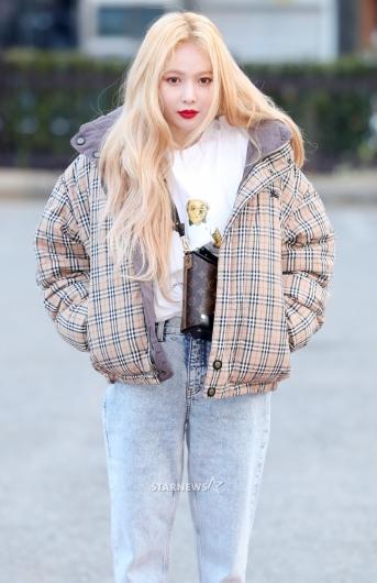[★포토]현아, '남다른 스타일'