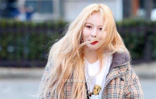 [★포토]현아, '머리카락이 질투하는 미모'