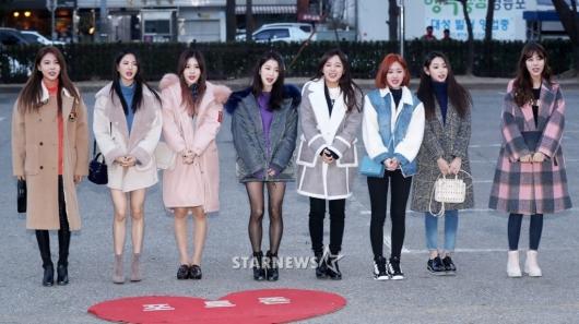 [★포토]구구단, '소녀들의 겨울 여친룩'