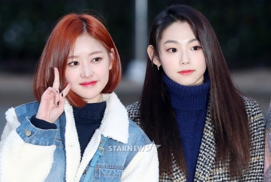 [★포토]미미-미나, '예쁨 대격돌'