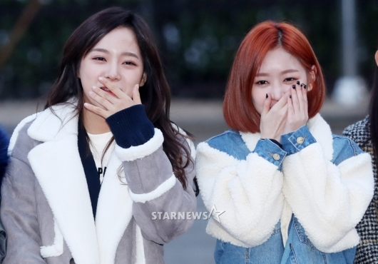 [★포토]세정-미미, '어머 부끄러워'