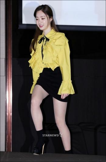 [★포토]양정원, '계단이 힘든 초미니 스커트'
