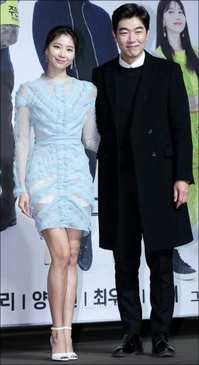 [★포토]오윤아-이종혁, '선남선녀 커플'