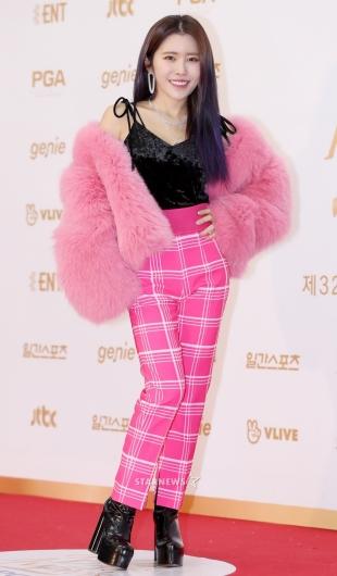 [★포토]수란, '패션 자신있어'