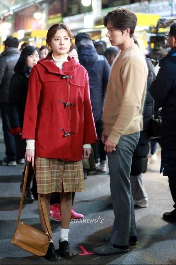 [★포토]나나-박해진 '우리 만날 수 있을까'