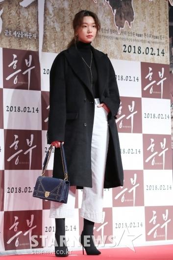 [★포토]이호정, 우월한 패션