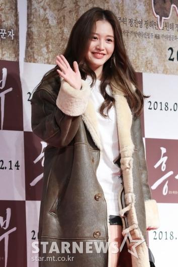 [★포토]김재경, '영화 기대되요'