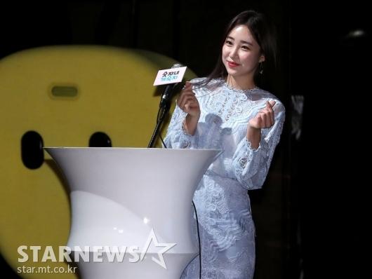 [★포토]최희 아나, '사랑스럽게'