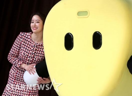 [★포토]전혜빈, '옥수수와 함께'