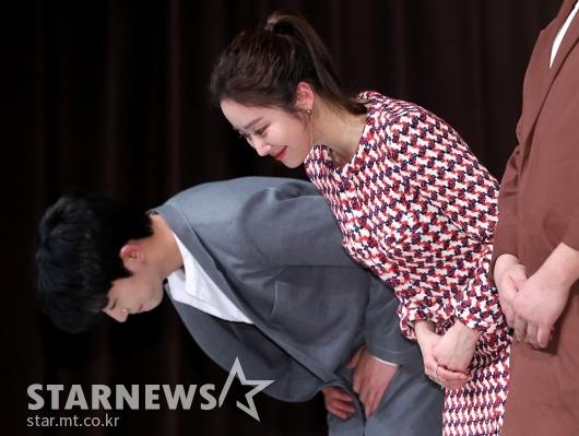 [★포토]안우연-전혜빈, '잘 부탁 드려요'