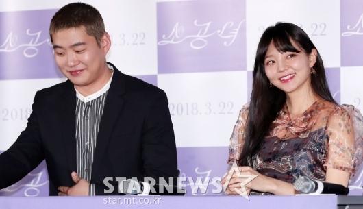 [★포토]안재홍-이솜, '화기애애' 우리 호흡 좋아요