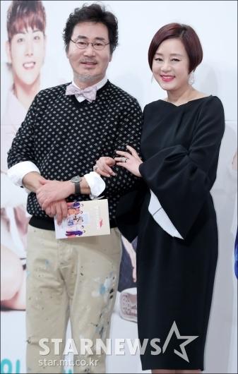 [★포토]유동근-장미희, '황혼 로맨스 기대하세요'
