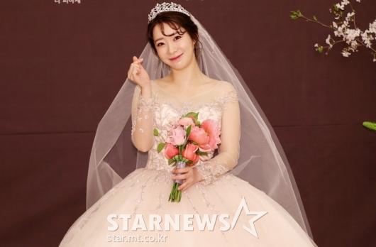 [★포토]안소미, '저 오늘 결혼해요!'