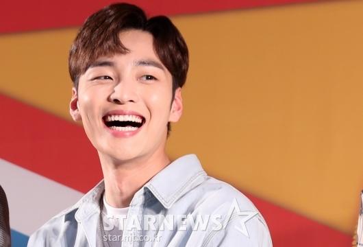 [★포토]김민재, '시원시원한 미소'