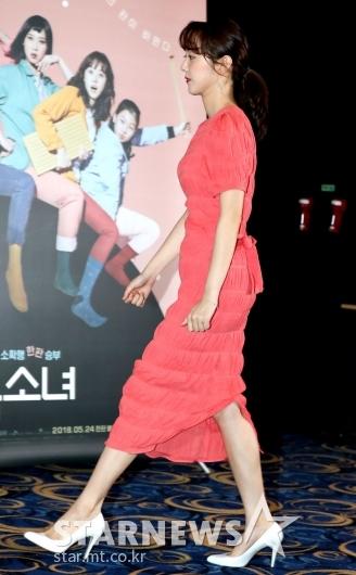 [★포토]박세완, '떨리는 시사회'