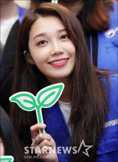 [★포토]정은지, '마음씨만큼 예쁜 얼굴'