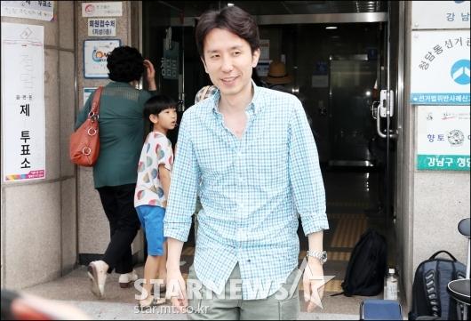 [★포토]6.13 지방선거 투표 참여한 유희열