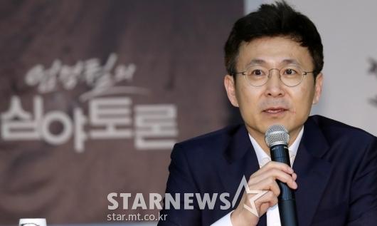 [★포토]엄경철, 'KBS 간판 토론의 귀환'