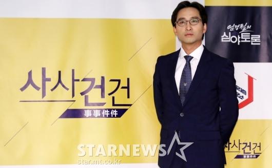 [★포토]'사사건건'의 김원장 기자