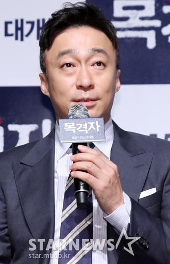 [★포토]이성민, 개봉 앞둔 '공작' 이어 '목격자'까지