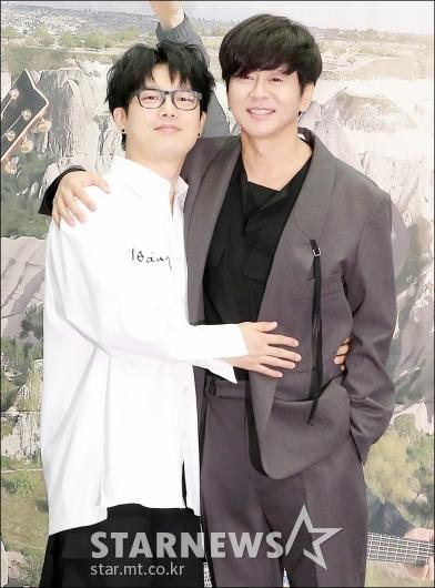 [★포토]하현우-윤도현, '명품 록커들의 만남'