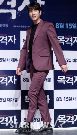 [★포토]곽시양, '시선강탈 버건디 수트'