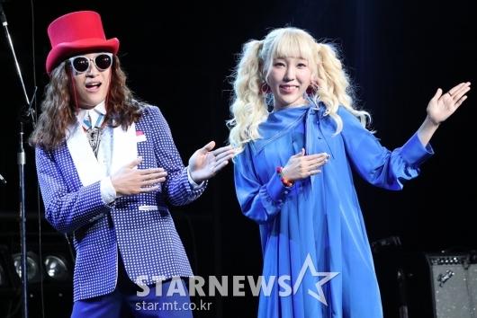 [★포토]새 앨범으로 돌아온 신현희와김루트