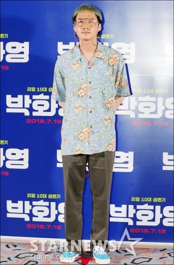[★포토]이환 감독, '패션에 신경 좀 썼어요'