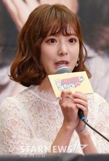 [★포토]김다예, '눈빛이 초롱초롱'
