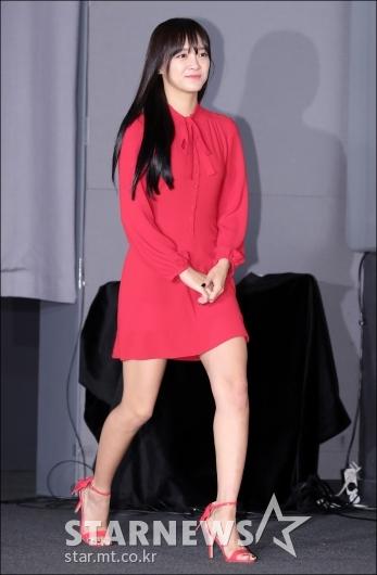 [★포토]김세정, '오늘은 레드 여신'
