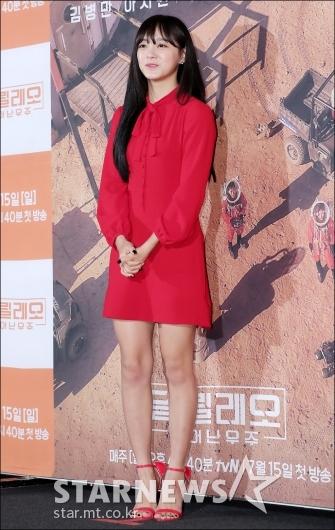 [★포토]김세정, '강렬한 레드 원피스'