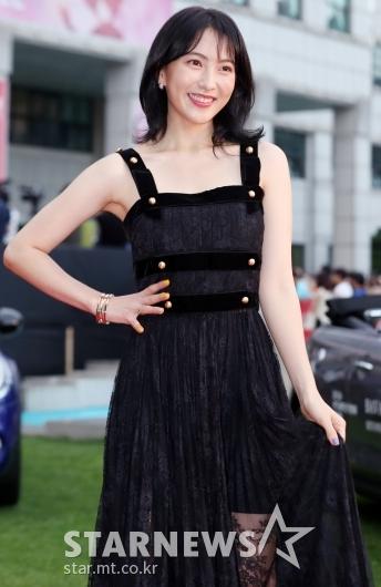[★포토]강지영, '블랙 여신'