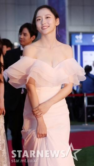 [★포토]박지현, '너무 과감한 드레스'