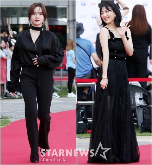 [★포토]구혜선-강지영, '그녀들의 극과 극 블랙 활용법'