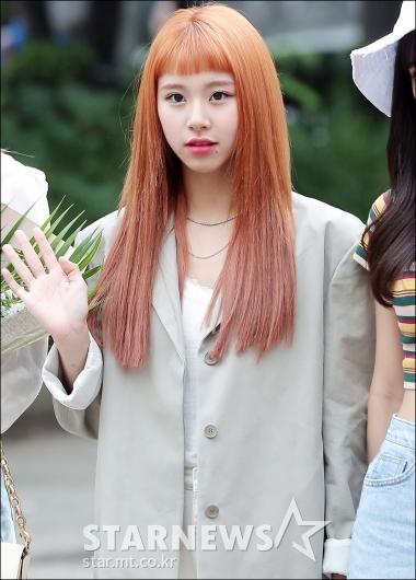 [★포토]채영, '귀여운 일자 앞머리'