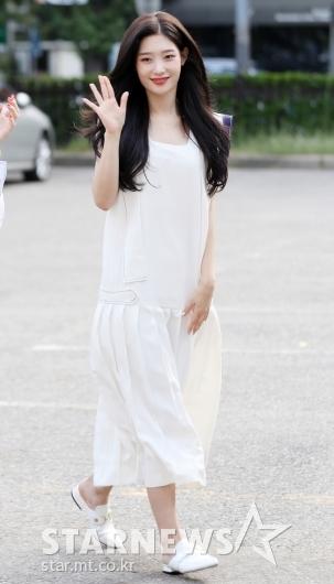 [★포토]정채연, '새하얀 천사 비주얼'