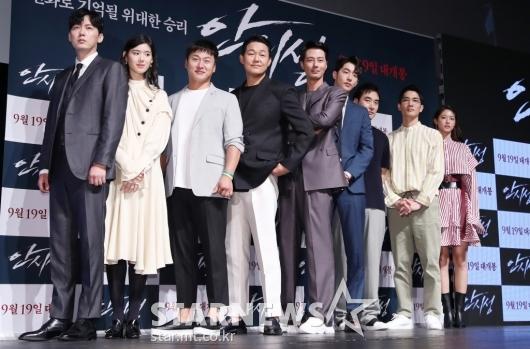 [★포토]영화 '안시성'의 화려한 배우진