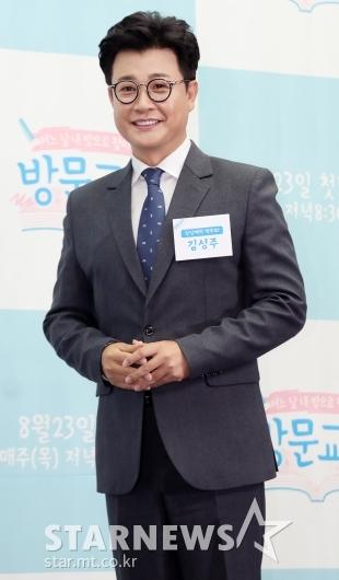 [★포토]김성주, '오랜만에 엠넷 돌아왔어요'