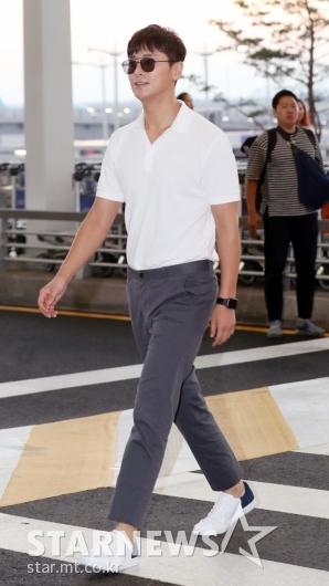[★포토]주지훈, '당당한 공항 런웨이'