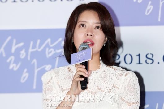 [★포토]김여진, '살아남은 아이'로 돌아왔습니다