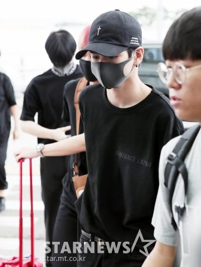 [★포토]옹성우, '블랙 패션으로 시크하게'