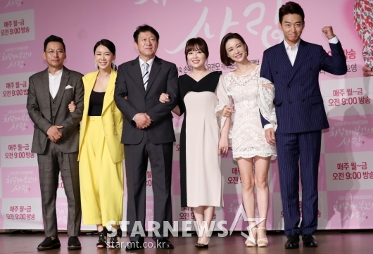 [★포토]드라마 '차달래 부인의 사랑' 주연배우들