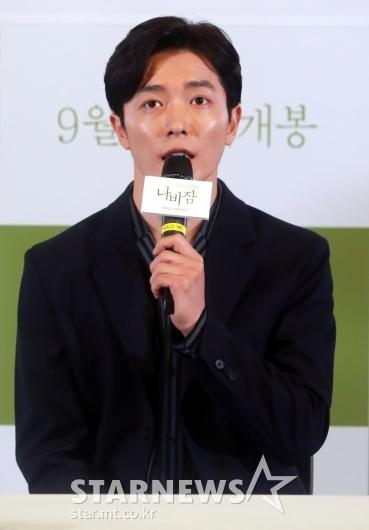 [★포토]김재욱 '20대를 돌아보게 한 작품'