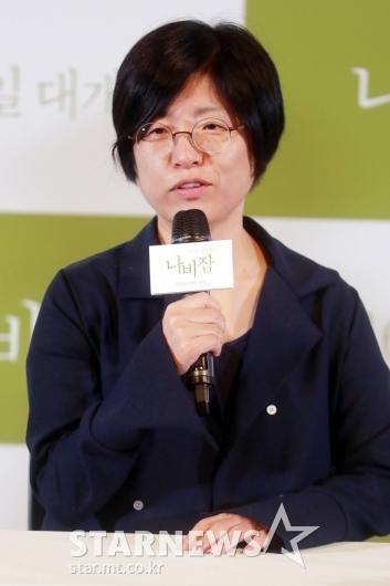 [★포토]정재은 감독 '러브레터 팬이었다'