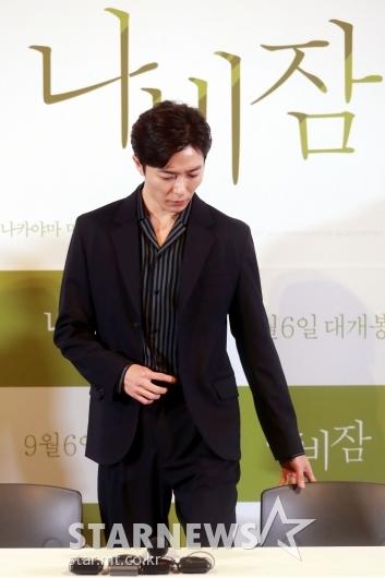 [★포토]김재욱 '나비잠'