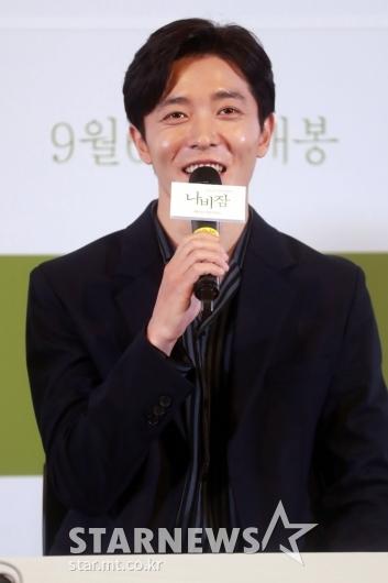 [★포토]김재욱 '나비잠, 충분히 재미있어요'