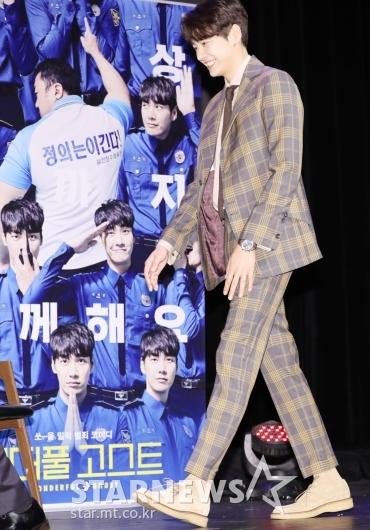 [★포토]김영광, '놀라운 기럭지'